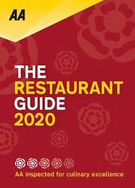 Two rosettes for food, five stars for accommodation