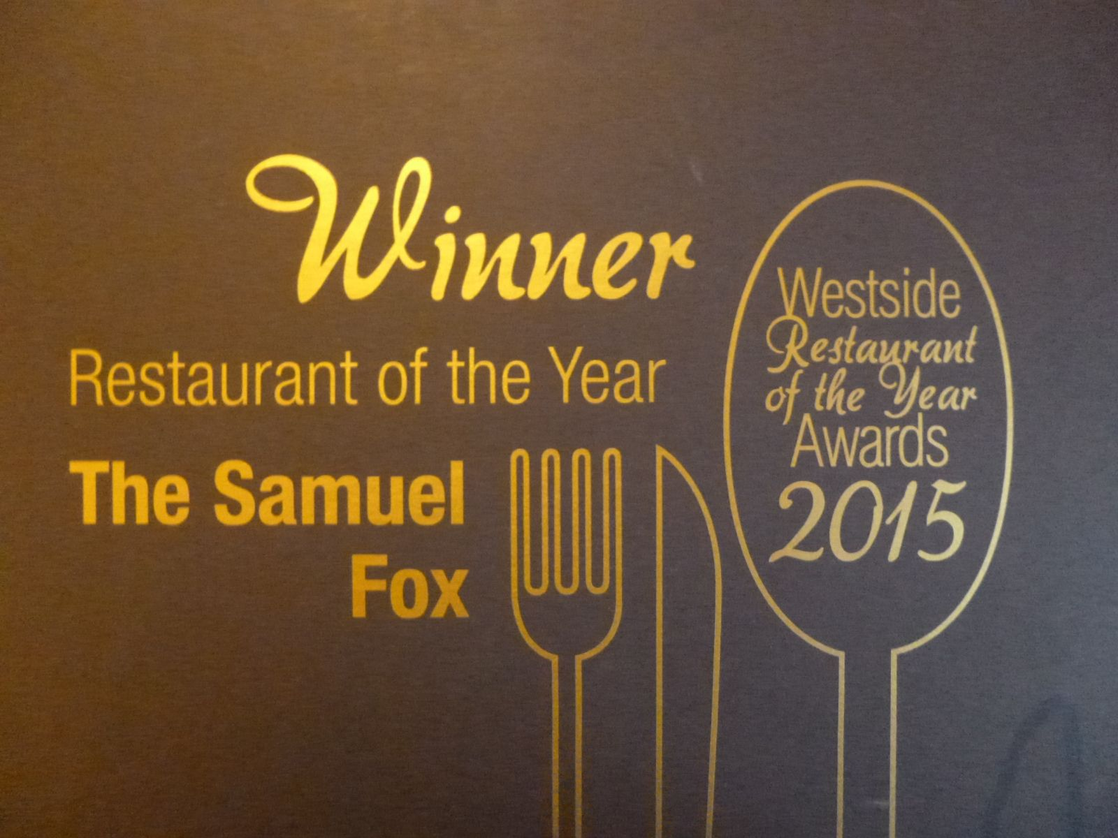 Sheffield Westside Restaurant of the Year