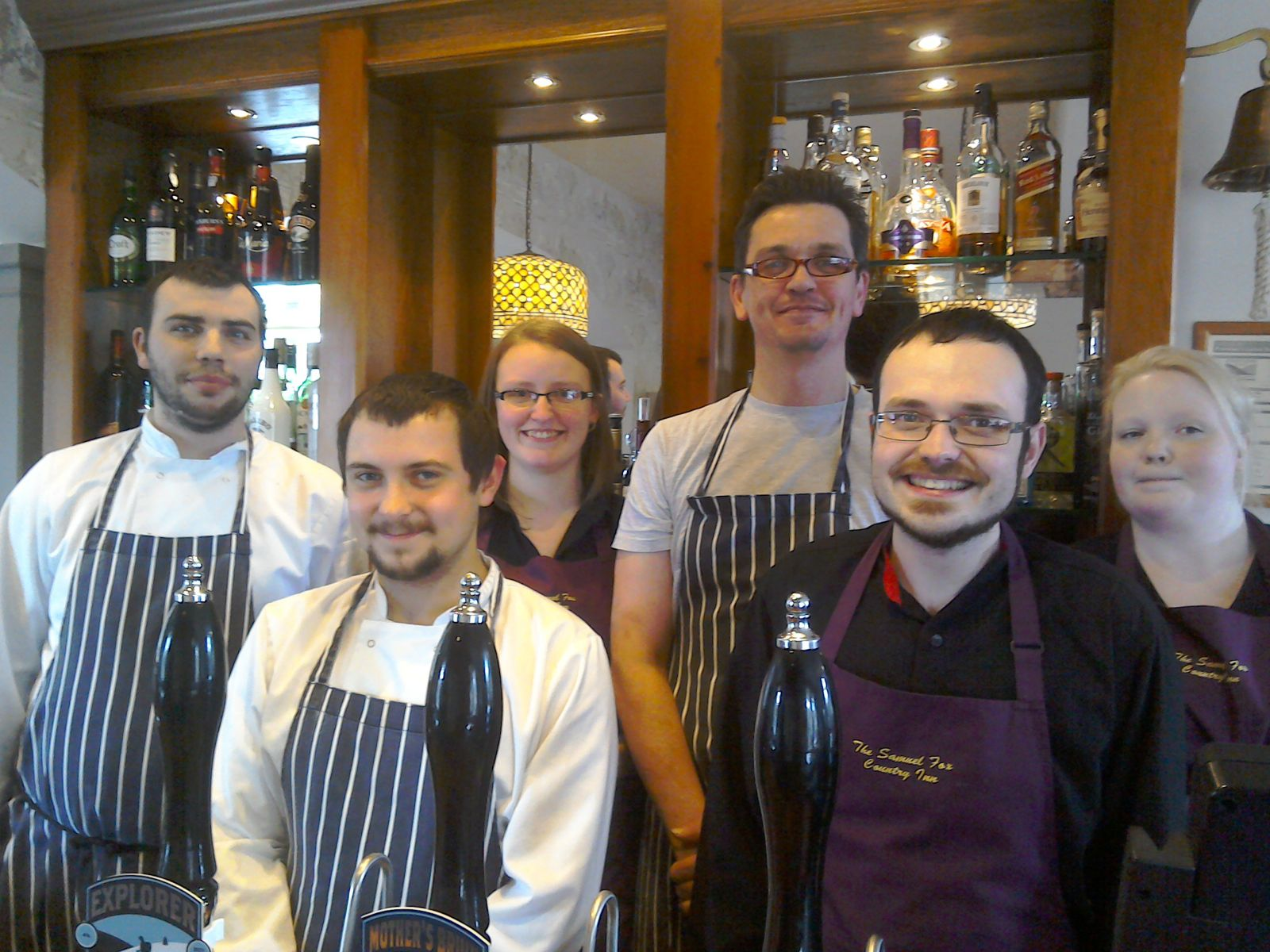 A warm welcome awaits you in the bar, retaurant and hotel