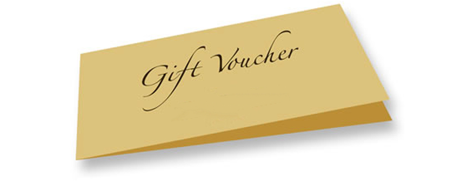 Our gift vouchers make an excellent present for any occasion